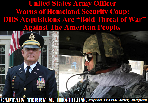Army Officer Warns Of DHS Coup