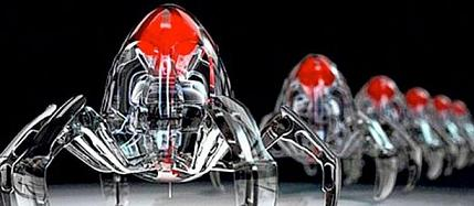 Pentagon Robot Swarms