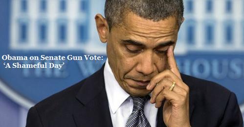 Obama's Shameful Day...
