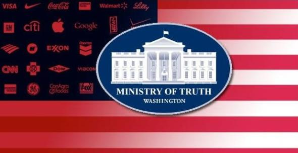 Ministry of Truth, For Corporate America
