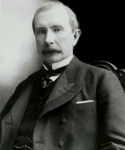 John Davison Rockefeller (July 8, 1839 – May 23, 1937) Robber Baron
