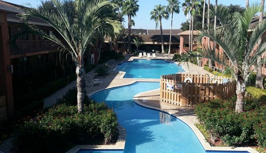 Palm Aire Hotel in Weslaco, Texas